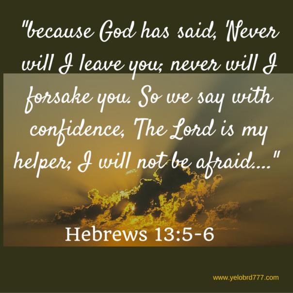 Hebrews 13_5-6