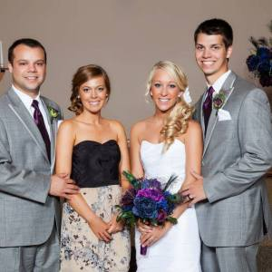 Tay and Britts wedding pic of all kids