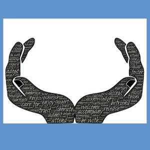 open hands of giving