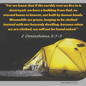 %22For we know that if the earthly tent we live in is destroyed, we have a bu