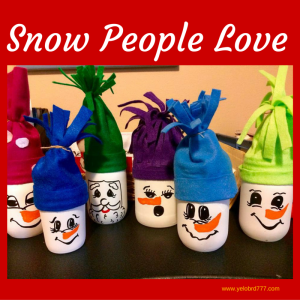 Snow People Love