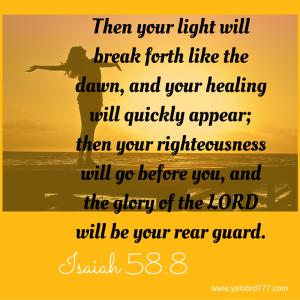 Isaiah 58_8_ %22T
