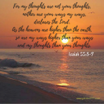 Isaiah 55_8-9