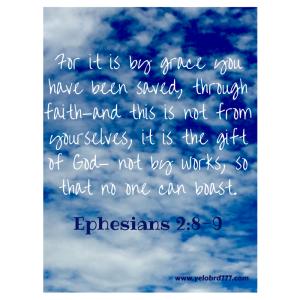 Ephesians 2_8-9