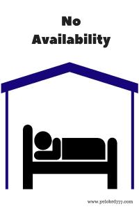 No Availability