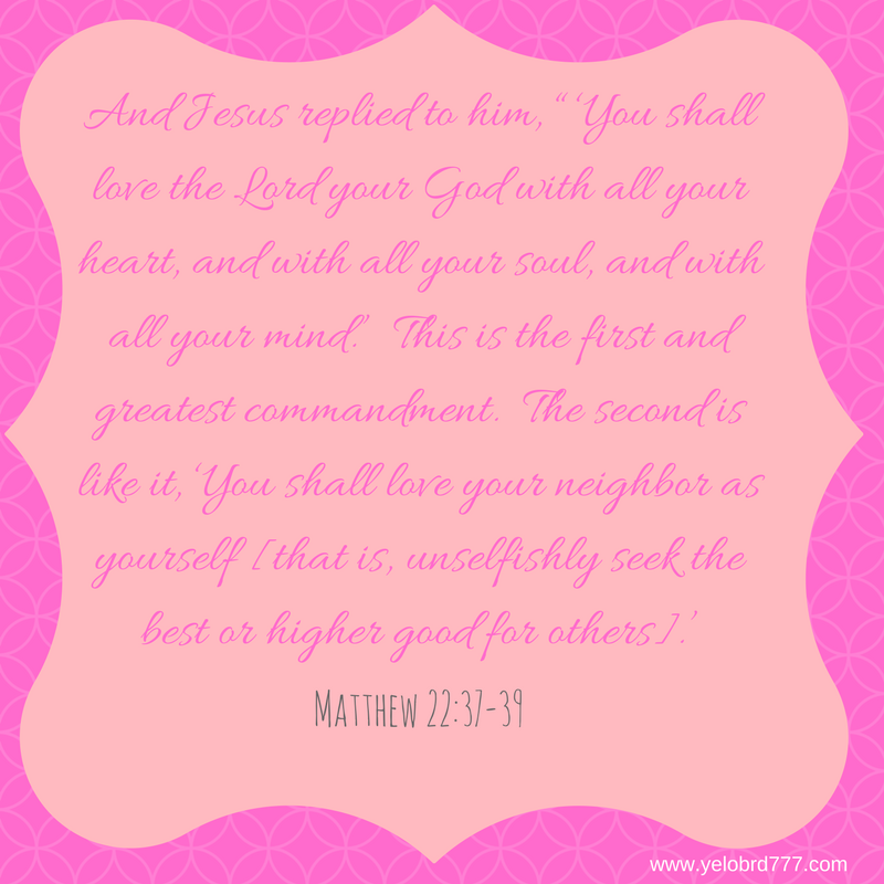 Matthew 22_37-39