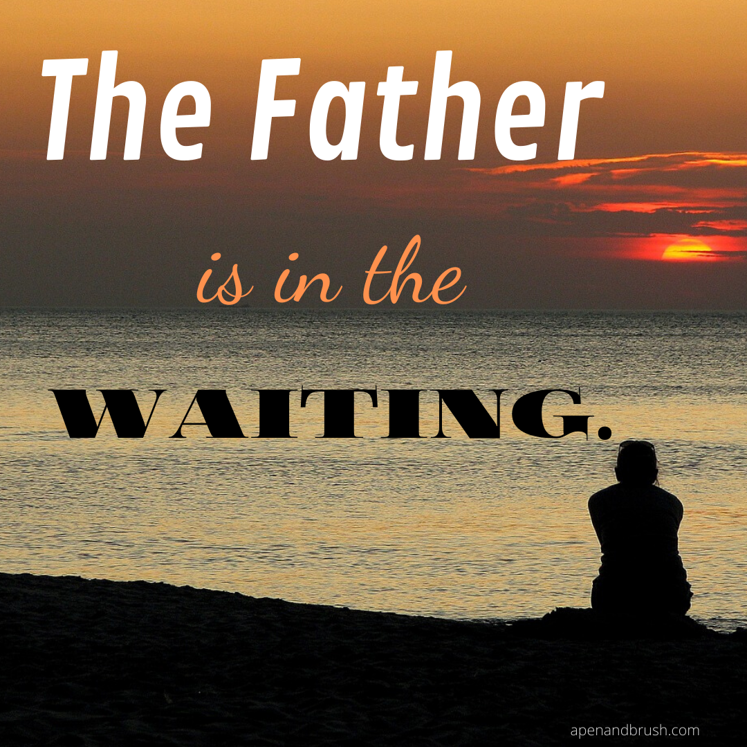 He is in the Waiting